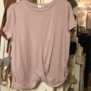 GAP blush knot detail T-shirt
